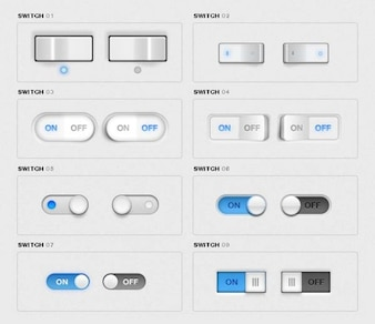 Toggle Switches Pack