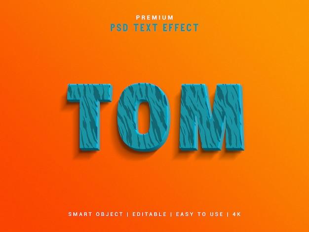 Создатель текстовых эффектов tom