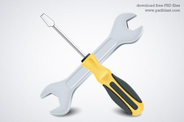 Tools icon  psd