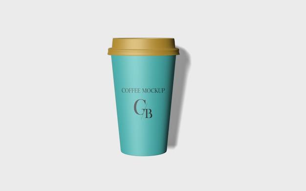 Бумажный макет кофейной чашки