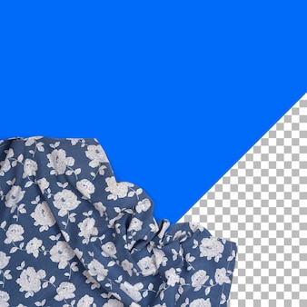 절연 꽃 패턴으로 보기 냅킨을 위로