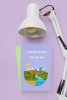 ランプ付き上面図書