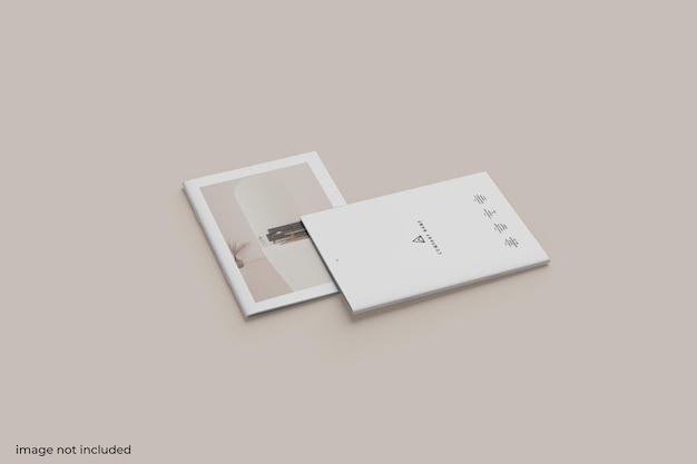 Брошюра с видом сверху или макет каталога