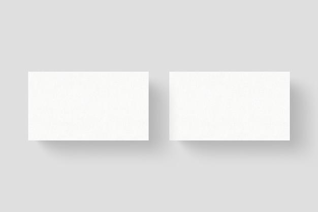 상위 뷰 명함 모형