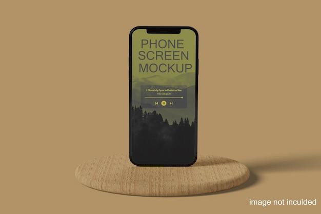 상위 뷰 새로운 휴대 전화 모형