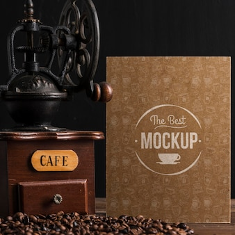 커피 개념 모형의 상위 뷰