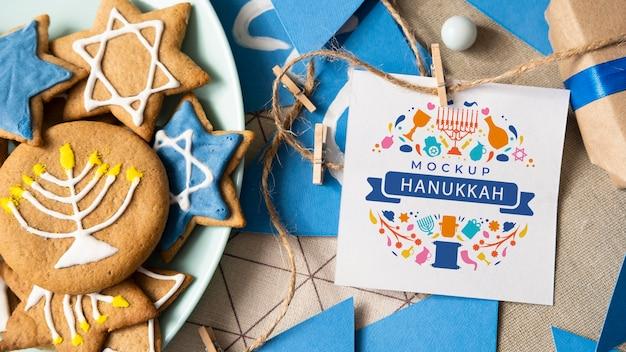 하누카 개념 모형의 상위 뷰