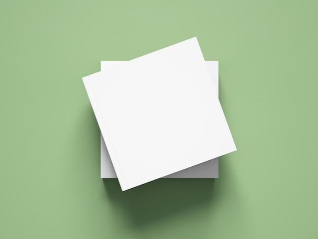 Макет квадратной обложки книги