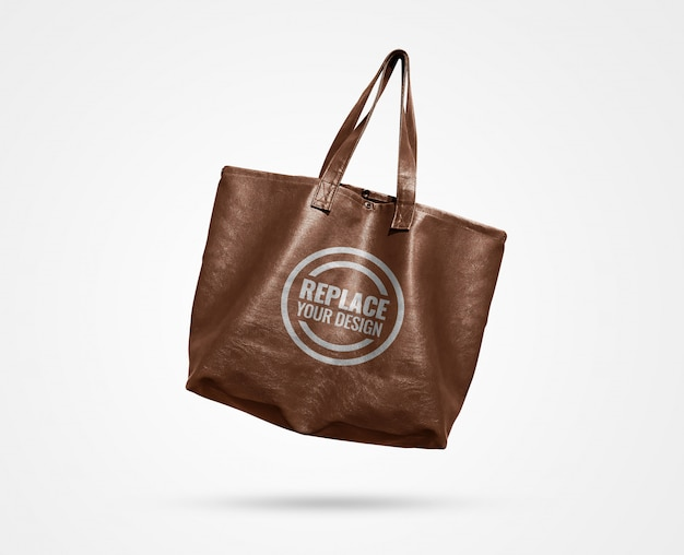 Tote bag advertising mockup