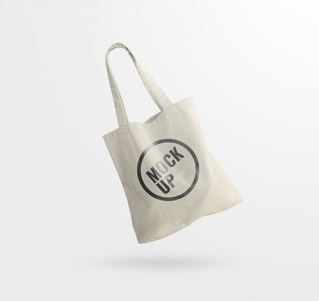 Tote bag design mockup