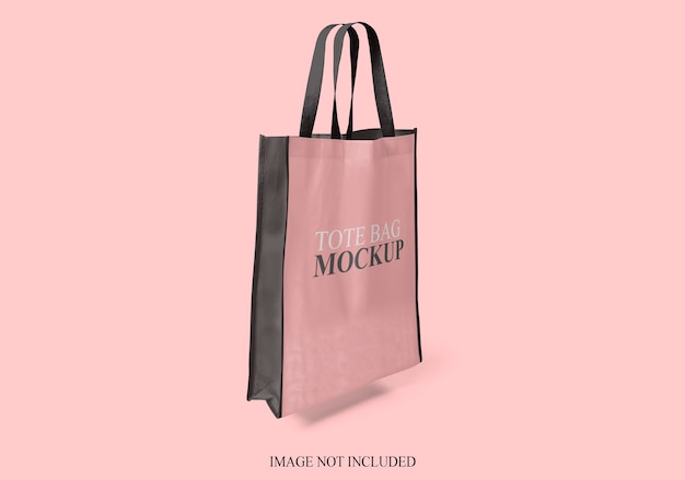 Tote bag mockup isolated