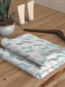 Макет полотенца