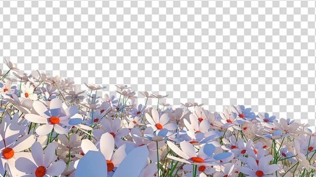 Транспаранский цветочный фон