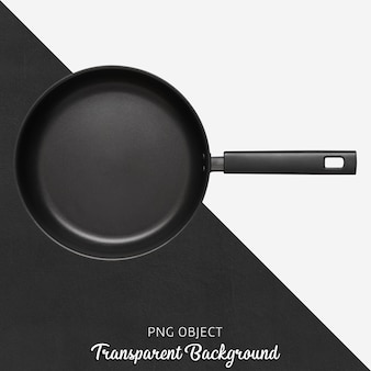 Transparent black teflon pan