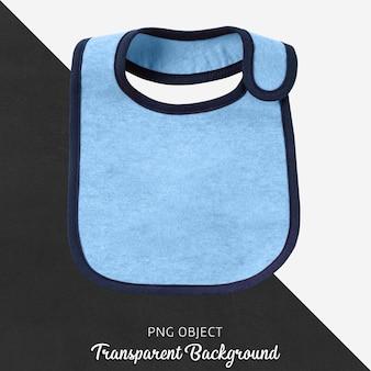 Прозрачный синий нагрудник для ребенка или детей