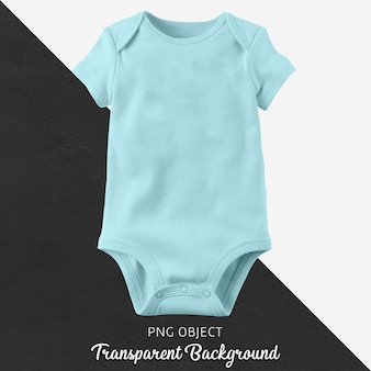 Transparent blue bodysuit for baby or children