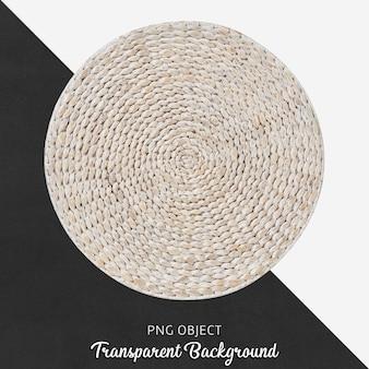 Transparent wicker round service