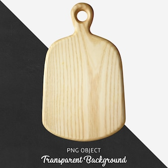 Transparent wood cutting board or serving board