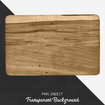 Прозрачная деревянная разделочная доска