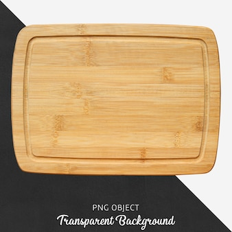 Transparent wood cutting board