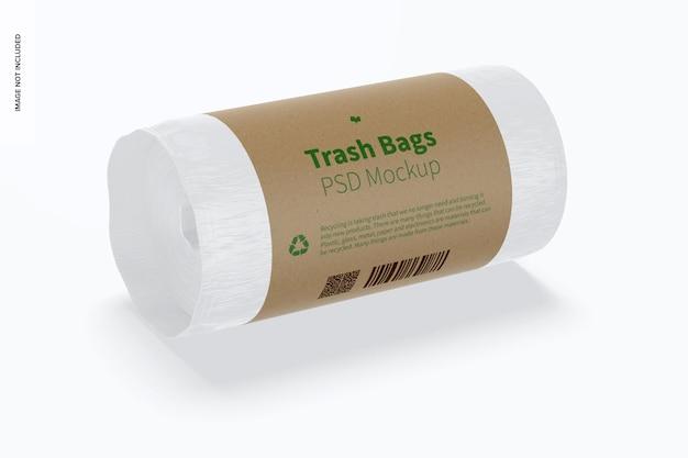 쓰레기 봉투 모형