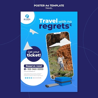 Travel agency print template