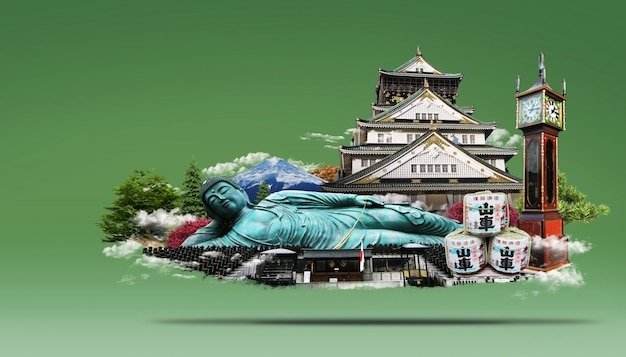 Travel japan land of the rising sun