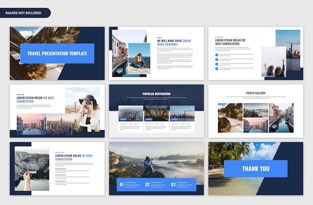 Travel and tour presentation slider template