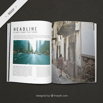 Журнал travel макете