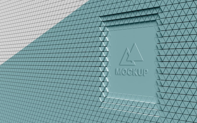 Triangular 3d background