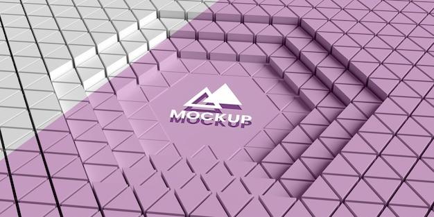 Triangular 3d background