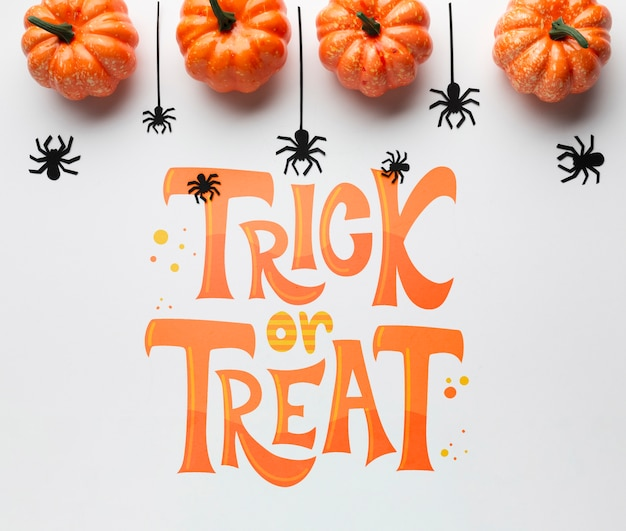 Trick or treat on halloween day