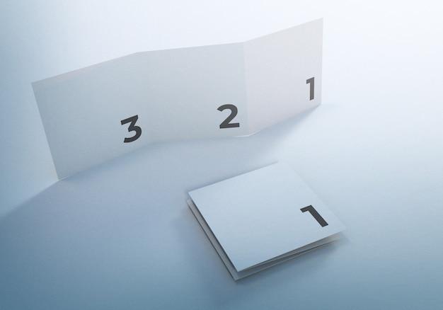 Брошюра для бизнеса макета буклета trifold