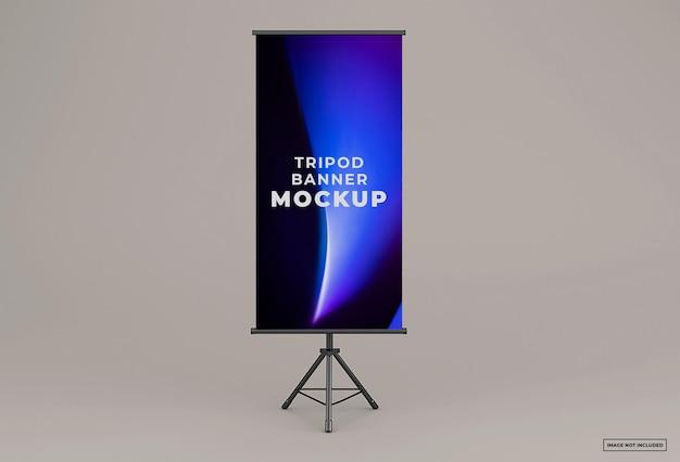 Tripod banner mockup design