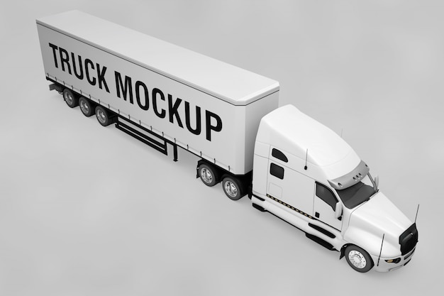 トラックモックアップ
