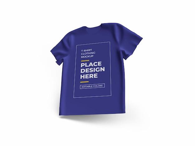 Tshirt cloth mockup design isolated