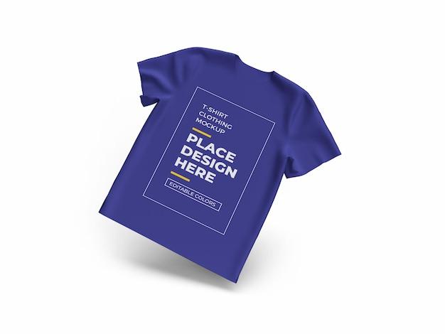 고립 된 tshirt 천 이랑 디자인