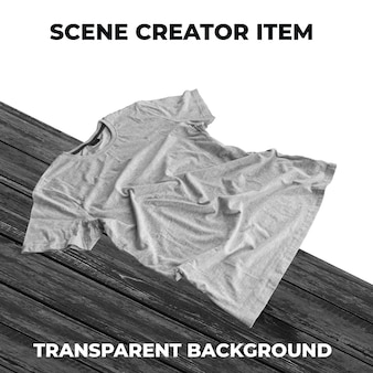 Tshirt object transparent psd