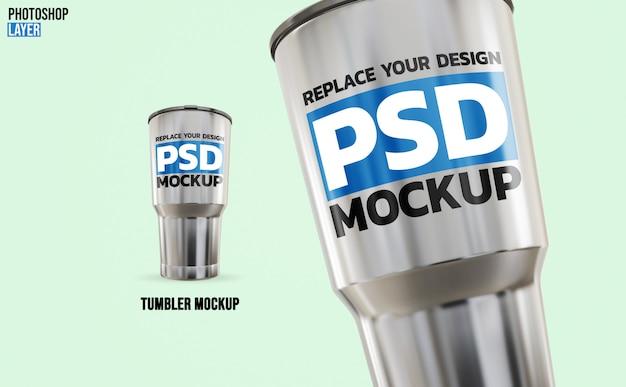 Tumbler rendering mockup