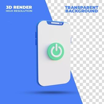 Включите 3d-рендеринг смартфона