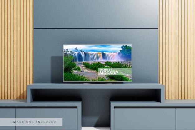거실에 있는 tv 모형