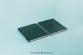 Two book cover mockups
