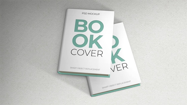 Due libri coprono mockup