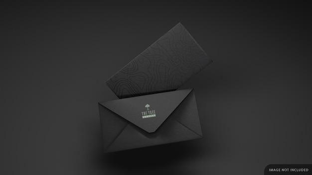 Макет двух фирменных конвертов