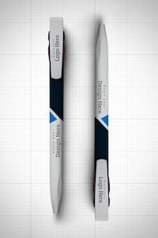 Two pens mockup