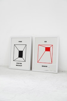 Two poster mockups