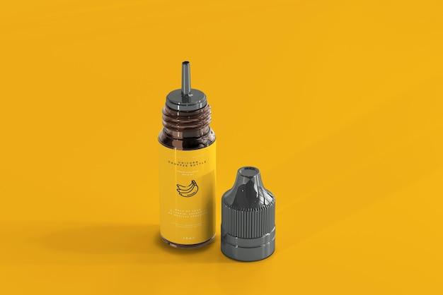 Unicorn dropper bottle and box mockup