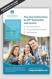 University Flyer Template