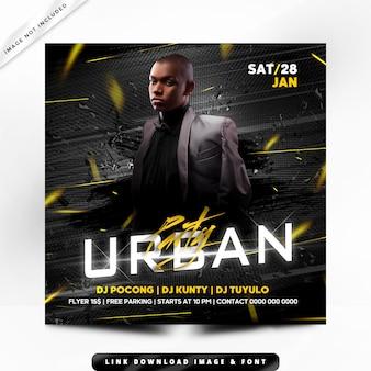 Urban premium poster