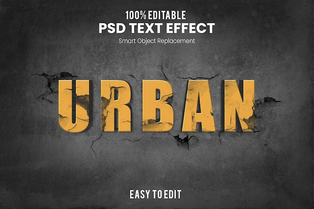 Эффект urbantext